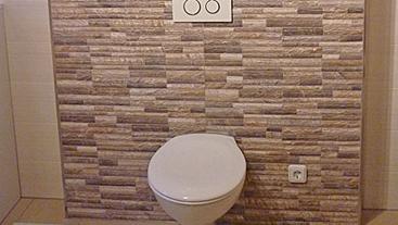 Badumbau-WC in Denkingen