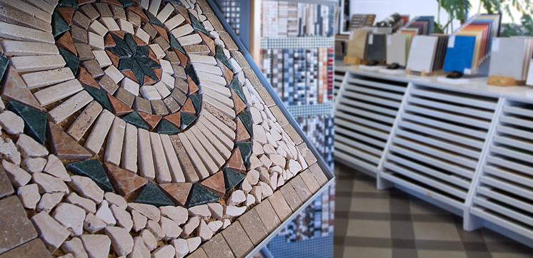 Mosaik im Detail